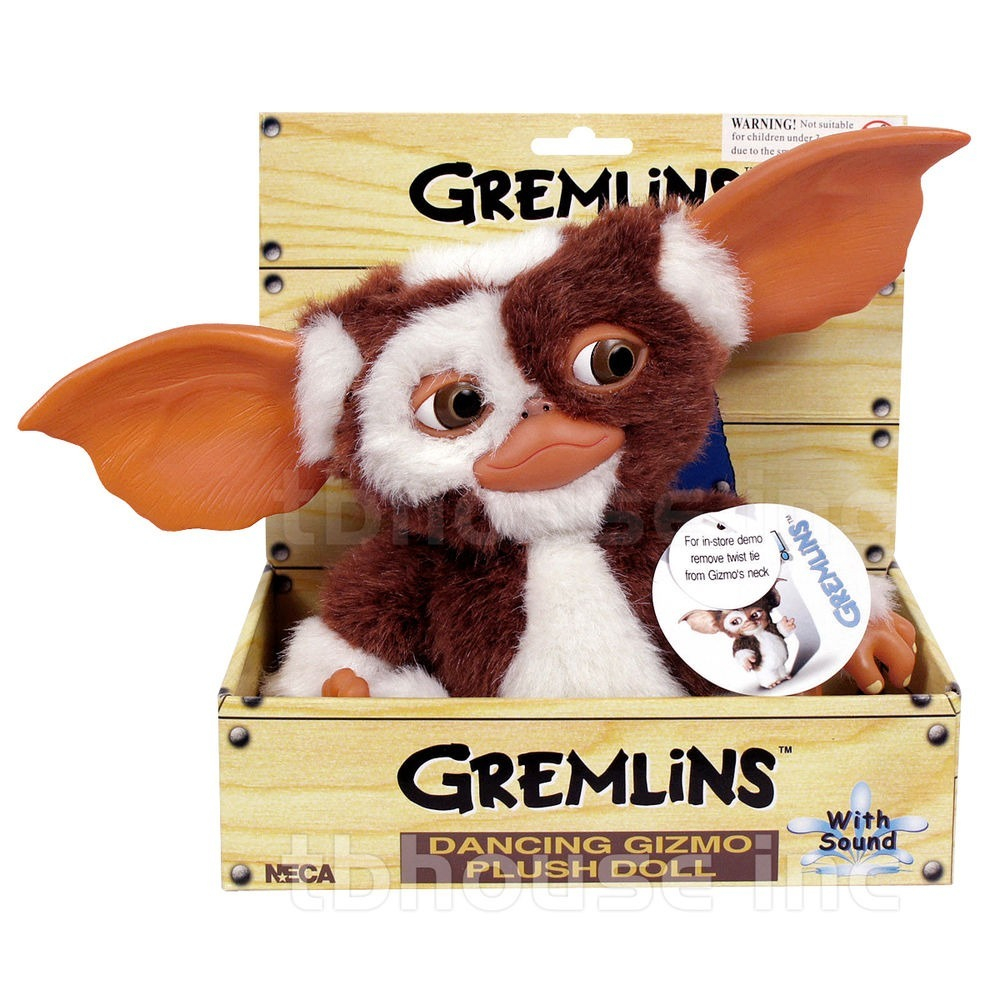 Gremlins: DANCING GIZMO Peluches 20 cm. by Neca