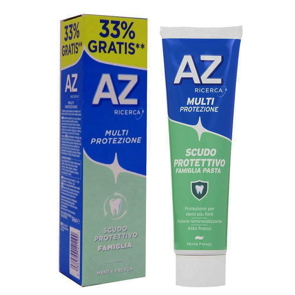 AZ Multi-Protezione Scudo Protettivo Famiglia Dentifricio 100ml