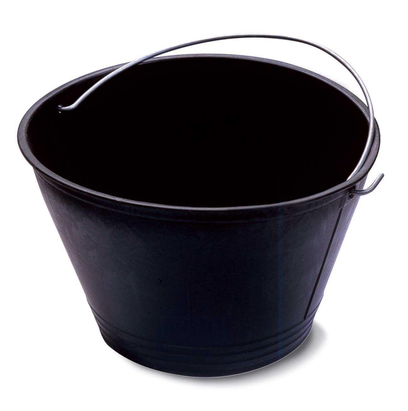 Mistral 114190 secchio in plastica nero