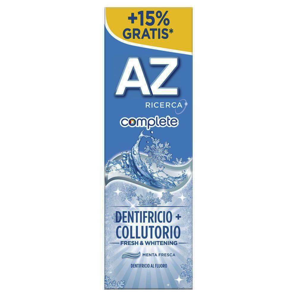 AZ Complete Fresh&Whitening Dentifricio+Collutorio 75ml