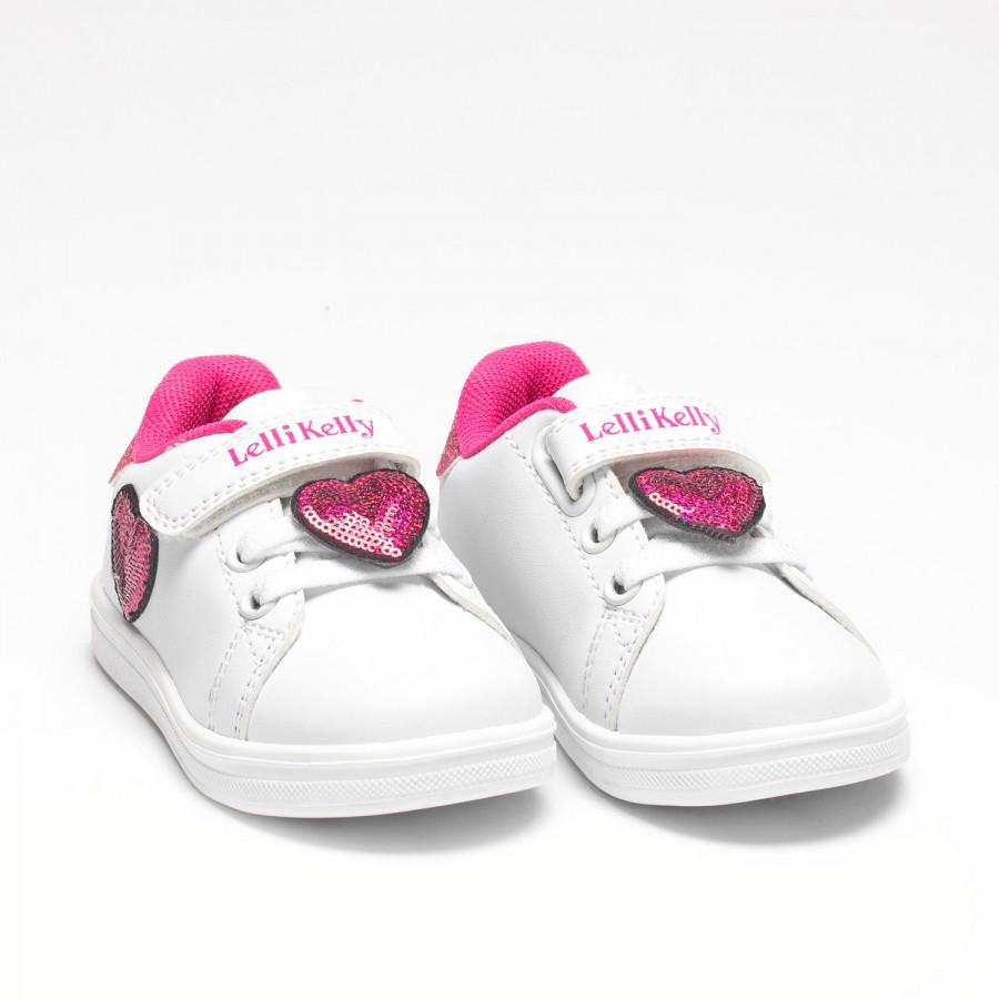 Sneakers bambina LELLI KELLY GINEVRA cuori