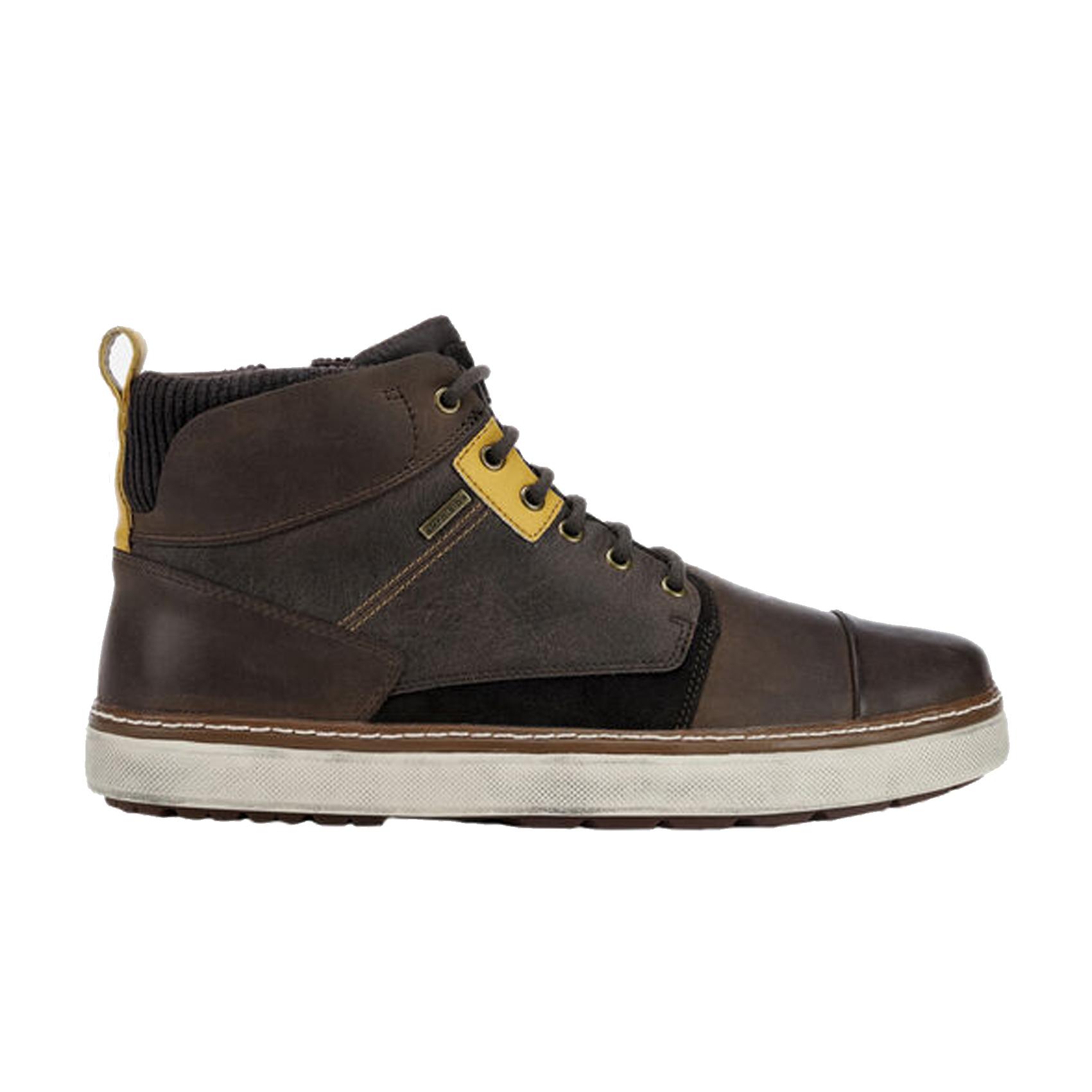 Sneaker mid marrone Geox