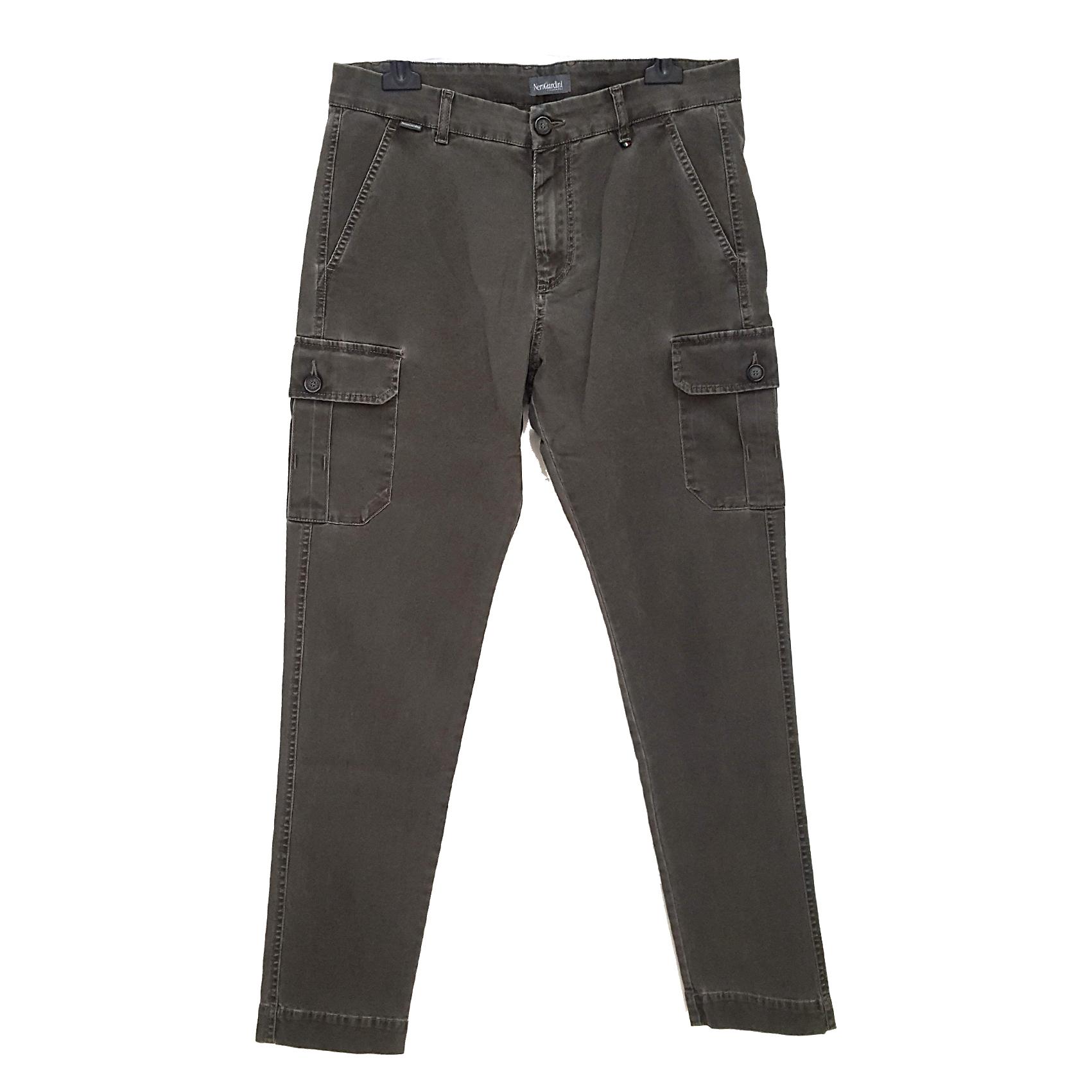 Pantalone bosco con tasconi Nero Giardini