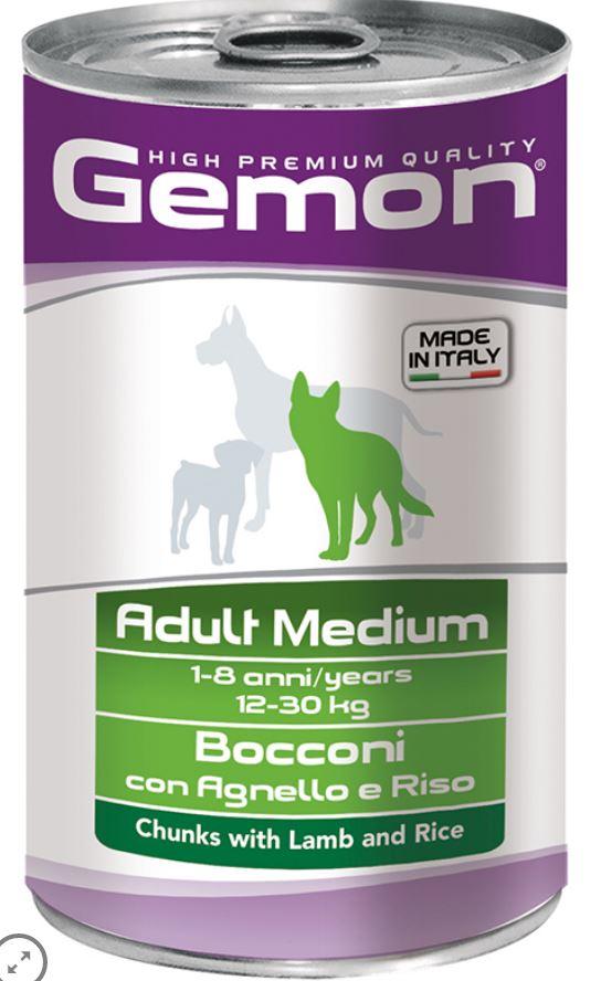 Gemon Dog Adult Medium Agnello e Riso