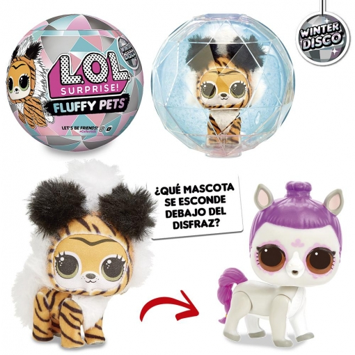 LOL FLUFFY PETS WINTER DISCO CDU 16 PZ