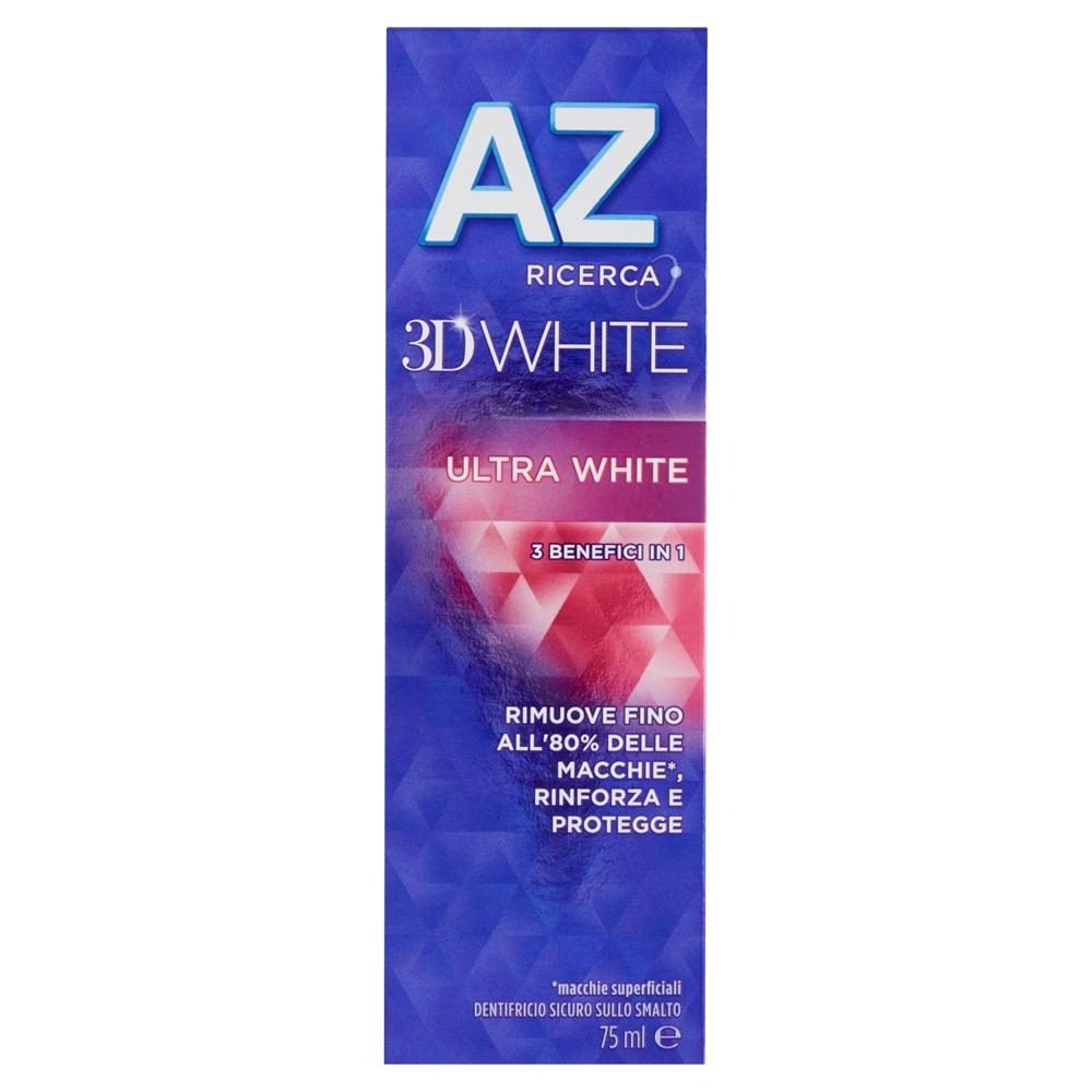 AZ 3D White Ultra White Dentifricio 75ml