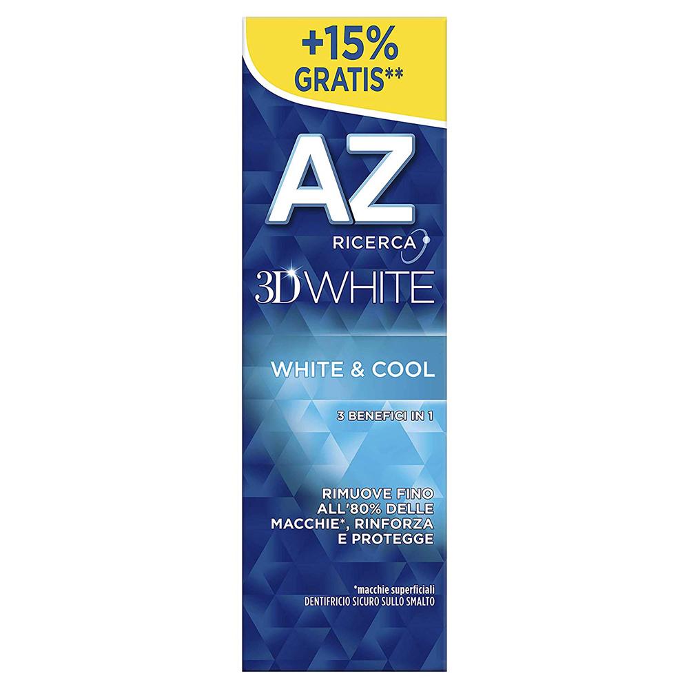 AZ 3D White White&Cool Dentifricio 75ml