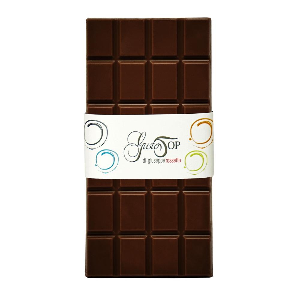 Tavoletta di Cioccolato fondente al 61% confezione da 80 gr