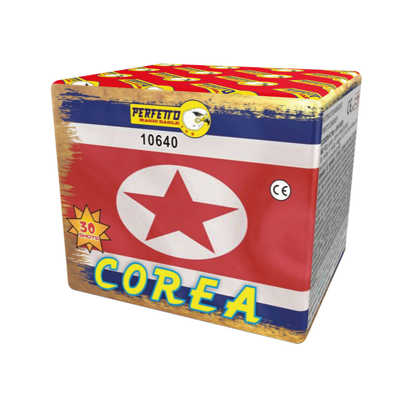 Batteria 30 shots - korea -  colpi assortiti