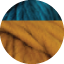 Mustard Yellow - Peacock