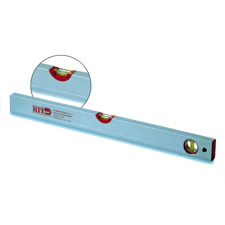 Hit ASL100 livello professionale in alluminio lunghezza 100cm