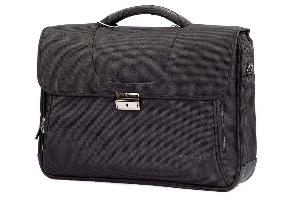 Cartella Briefcase Roncato Clio Black