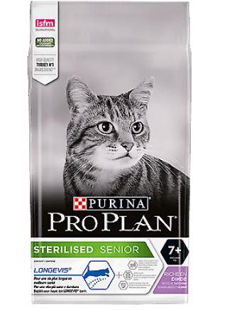 Purina proplan gatto sterilized 7+ tacchino