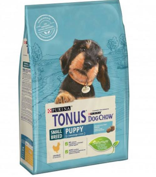 Purina Tonus Dog Chow Puppy Small Breed  Pollo 2,5kg