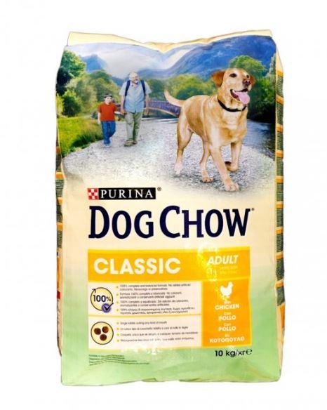 Purina chow dog classic al pollo