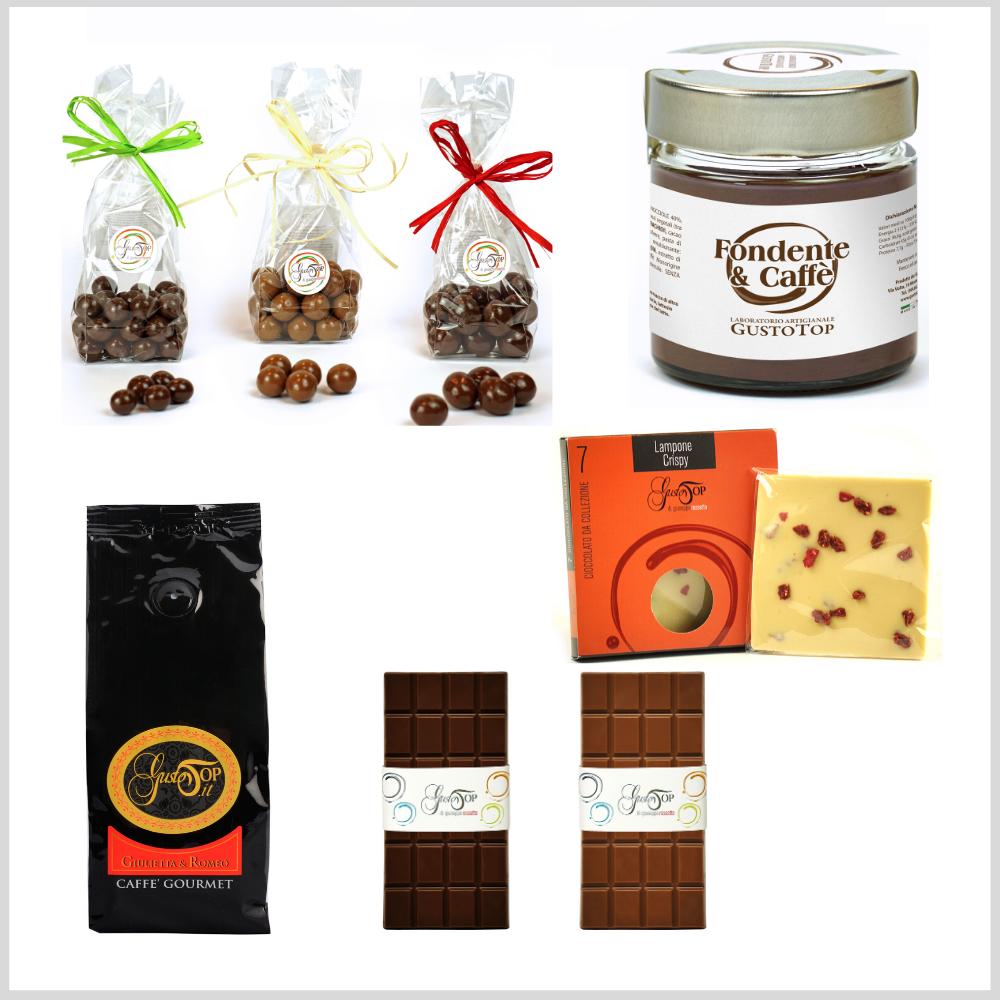 Confezione regalo media, simpatica e gustosa idea regalo per tutte le occasioni. Idee regalo n. 1