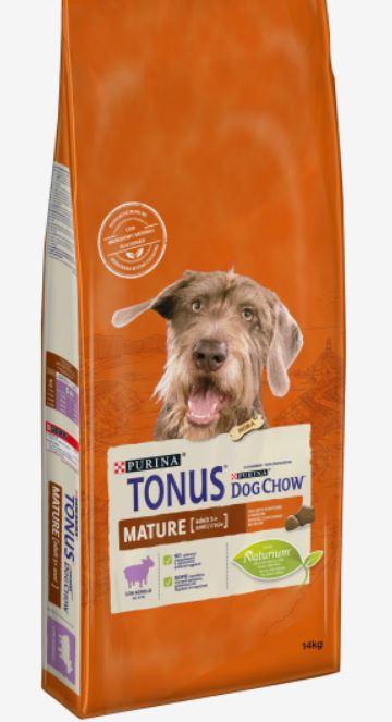 TONUS DOG CHOW Mature Adult Agnello
