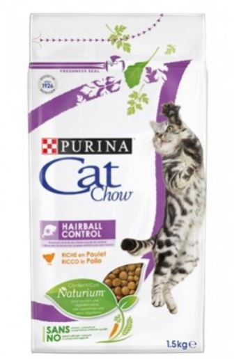 Purina Cat Chow Hairball Control Pollo
