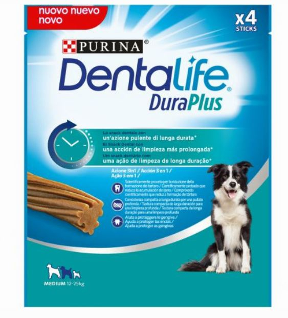 Dentalife DuraPlus Medium 4x197g