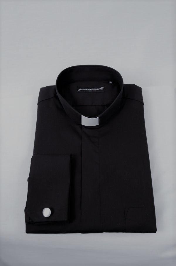 Camicia Clergy – Cotone – Con gemelli