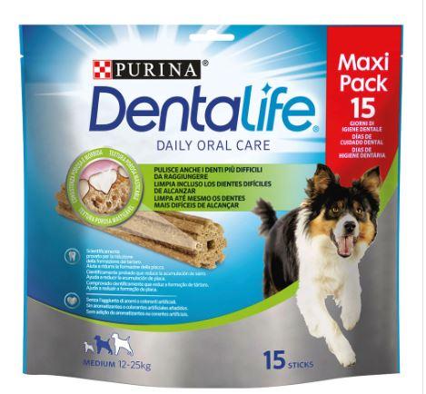 Dentalife Medium 15 Sticks Maxi Pack