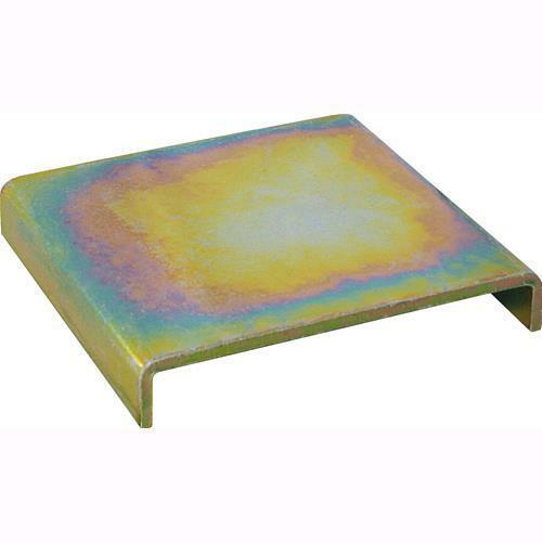 Friulsider piastra alza pilastri 140x140 zincata gialla