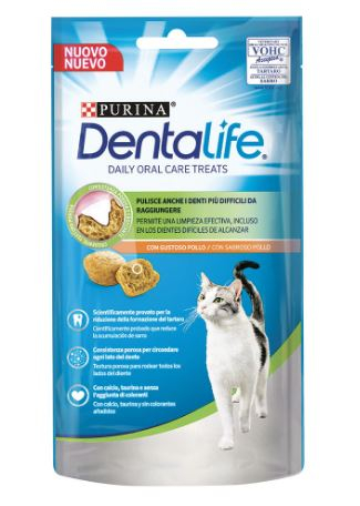 Purina Dentalife Cat Salmone