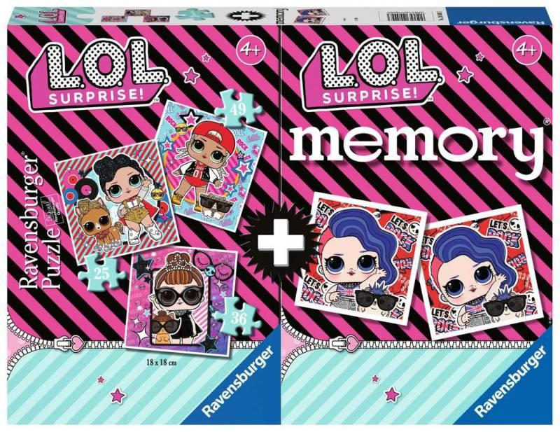 LOL  PUZZLE più MEMORY_ 20549 RAVENSBURGER
