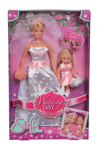 STEFFI LOVE con EVI WEDDING DAY 105733334 SIMBA NEW