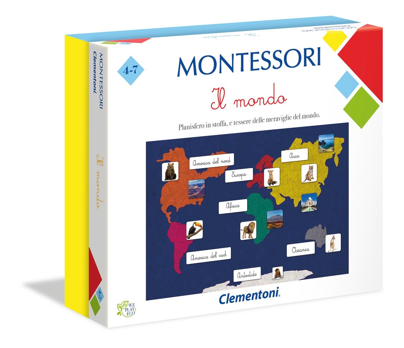MONTESSORI IL MONDO 16210 CLEMENTONI