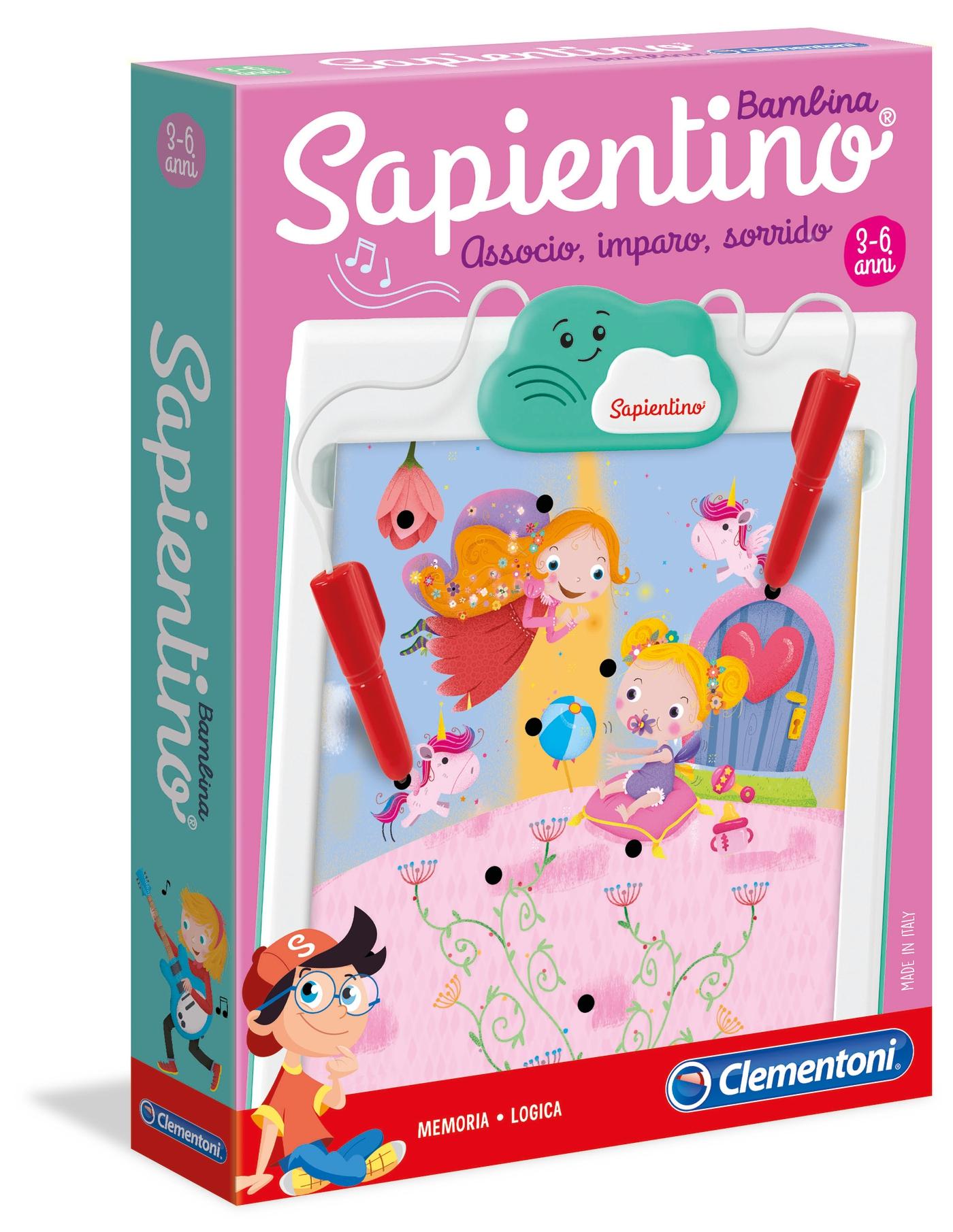 SAPIENTINO BAMBINA 16214 CLEMENTONI