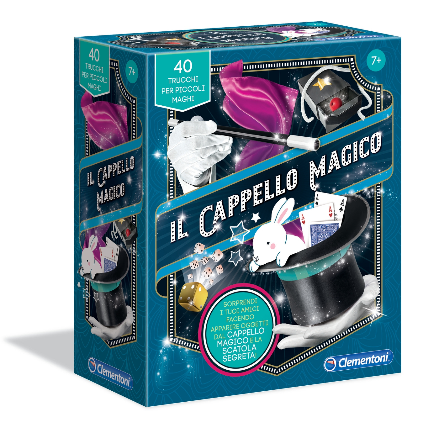 IL CAPPELLO MAGICO 16184 CLEMENTONI