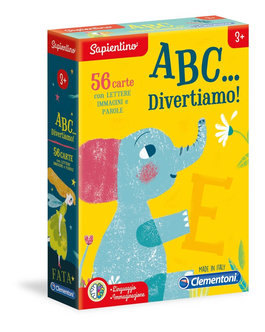 GIOCO A B C ... DIVERTIAMO 16123 CLEMENTONI