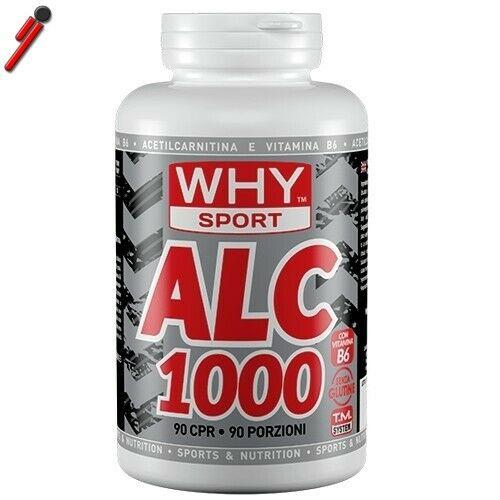 WHY Sport, ALC 1000, 90 cpr Acetil L-Carnitina da 1000 mg