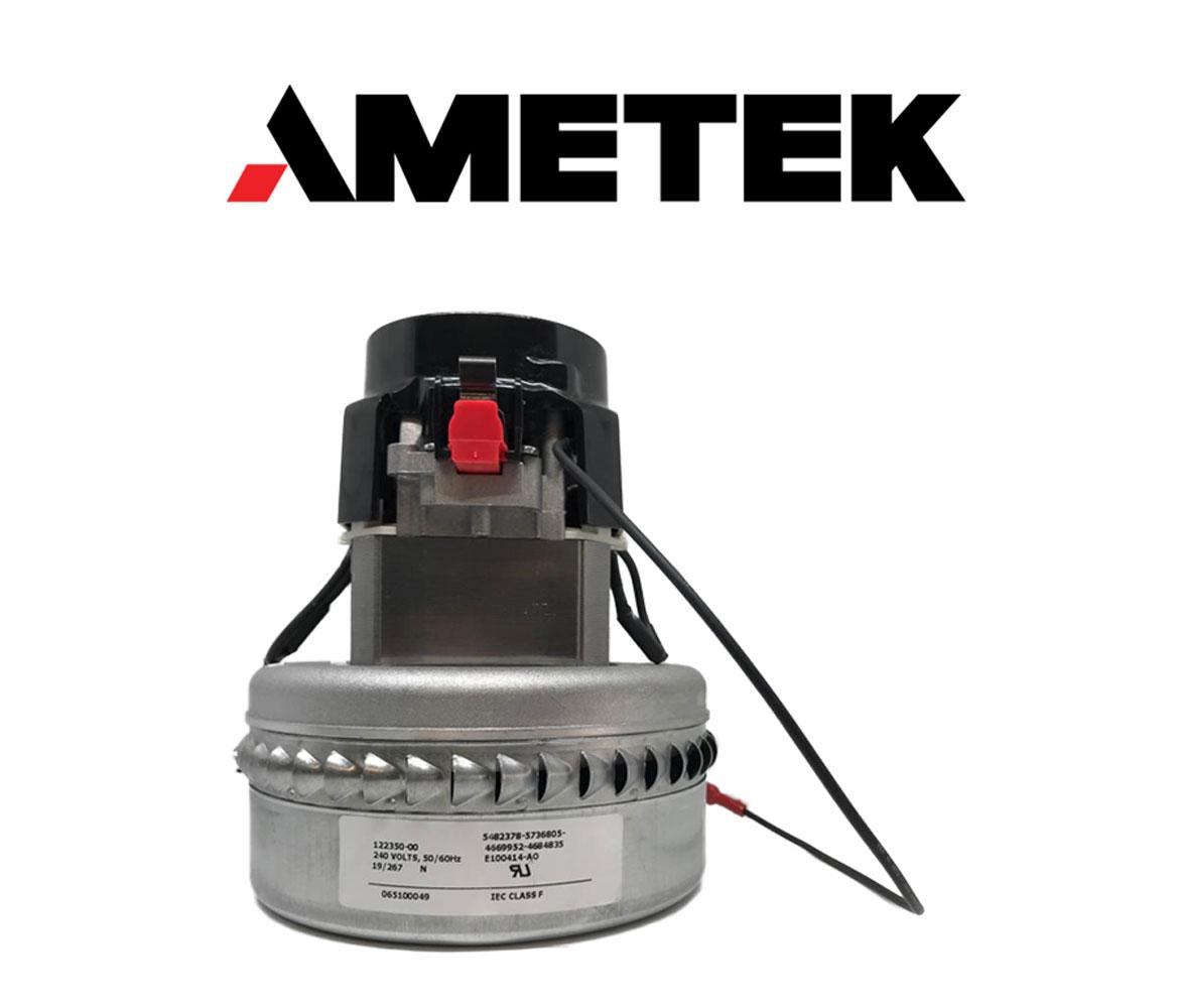 Motore aspirazione 122350-00 LAMB AMETEK per lavapavimenti e aspirapolvere