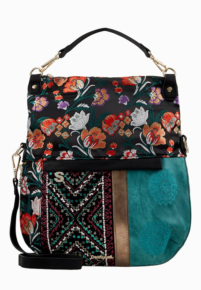 Borsa Desigual Cross-Body con tracolla