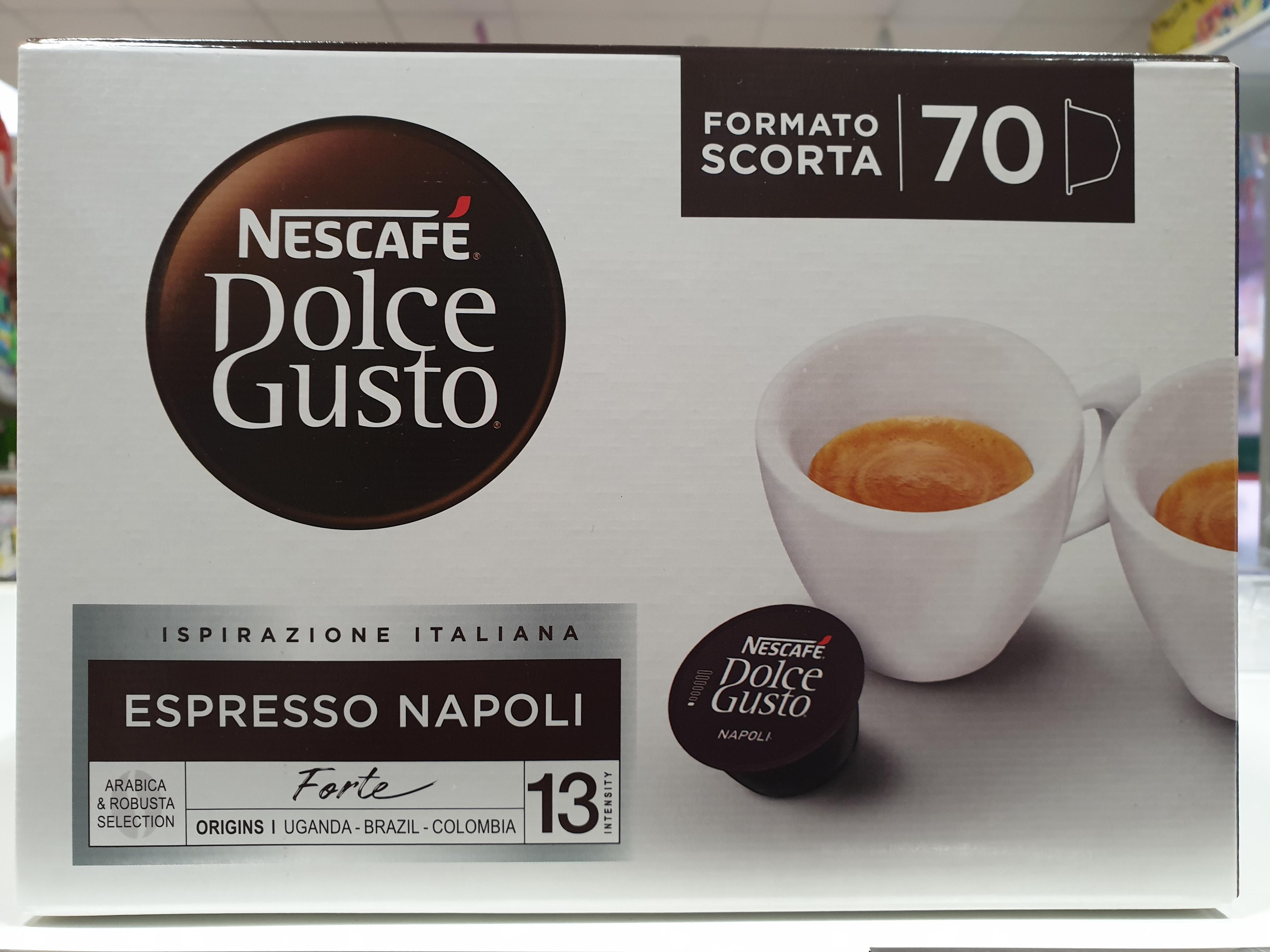 70 Capsule Dolce Gusto Espresso Napoli