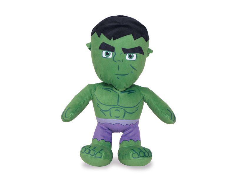 Peluche: Marvel (34cm) Hulk