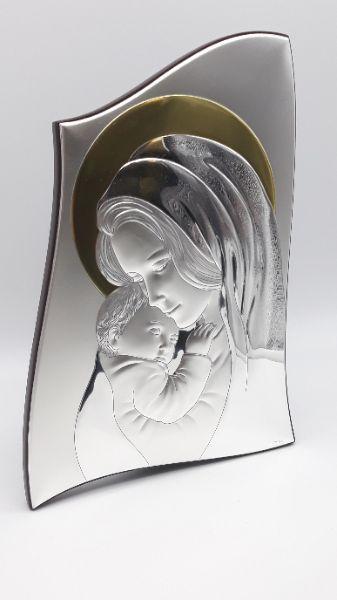 Icona Sacra Valenti Madonna con bambino aureola dorata vendita online | GIOIELLERIA BRUNI