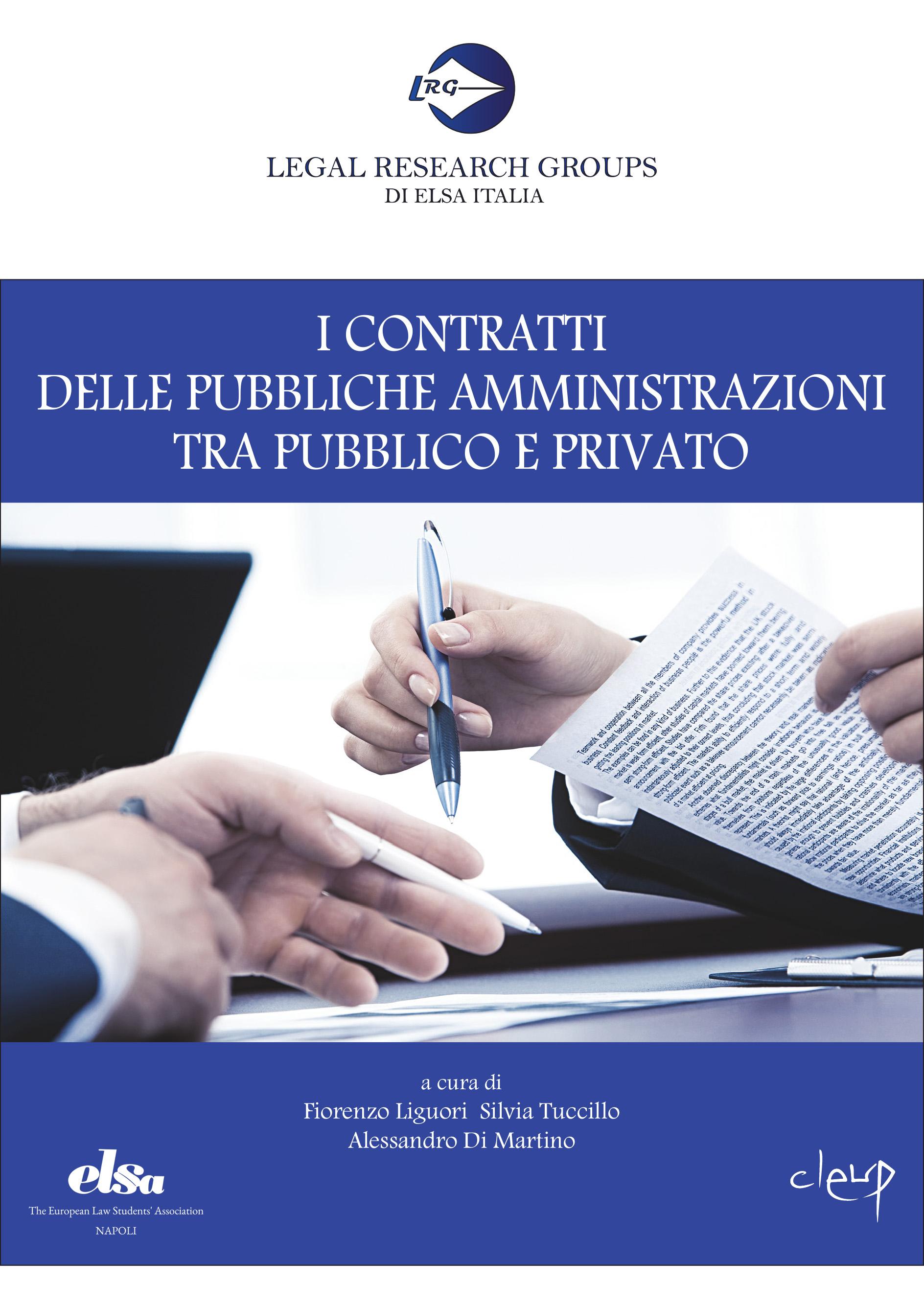 I contratti delle pubbliche amministrazioni tra pubblico e privato