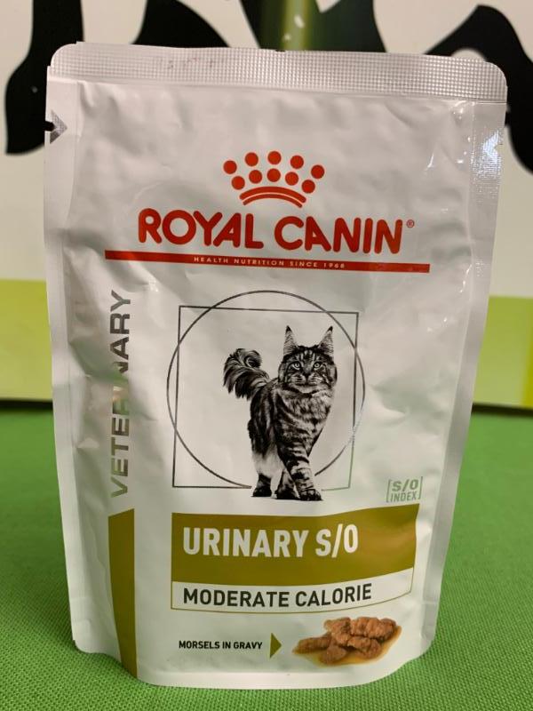URINARY S/O moderate calorie 85gr