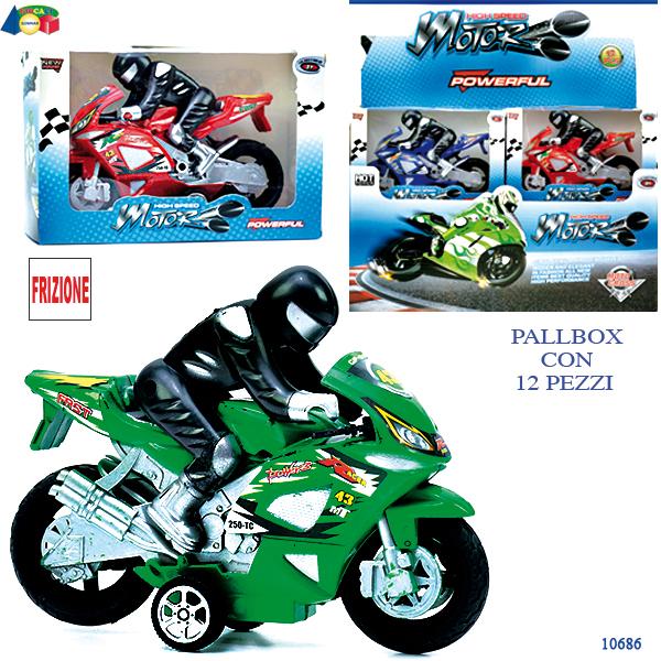 MOTO FRIZ C/ PILOTA COL. ASS. IN PALLBOX 10686 GINMAR srl