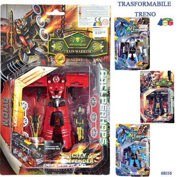 SET TRASFORMABILE TRENO, ASS 68036 GINMAR srl