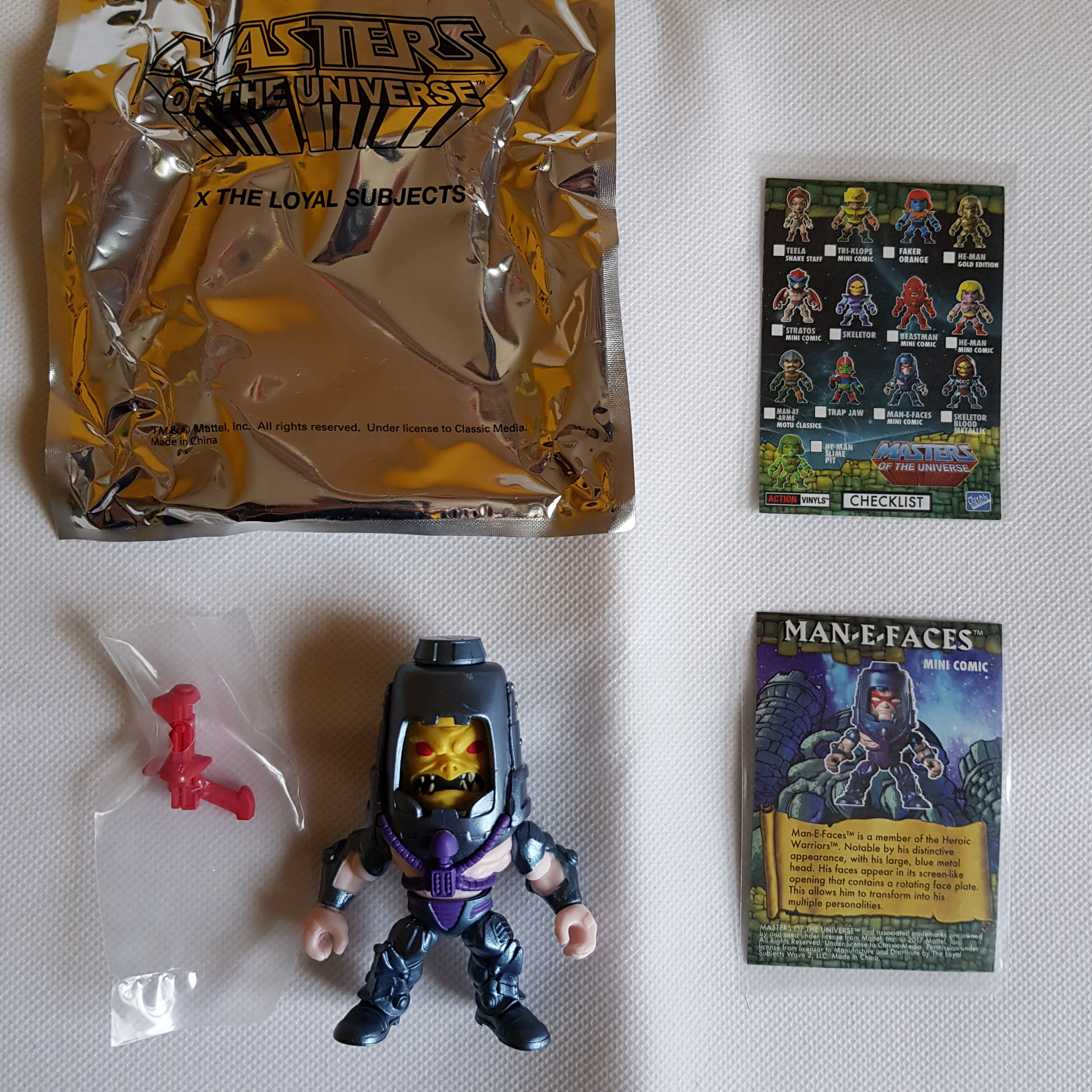 Masters of the Universe (the Loyal Subjects) TARGET EXCL. MAN-A-FACES