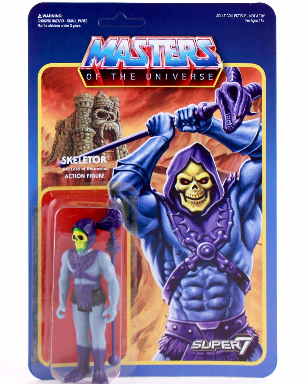 Masters of the Universe ReAction: SKELETOR ver.2 by Super7