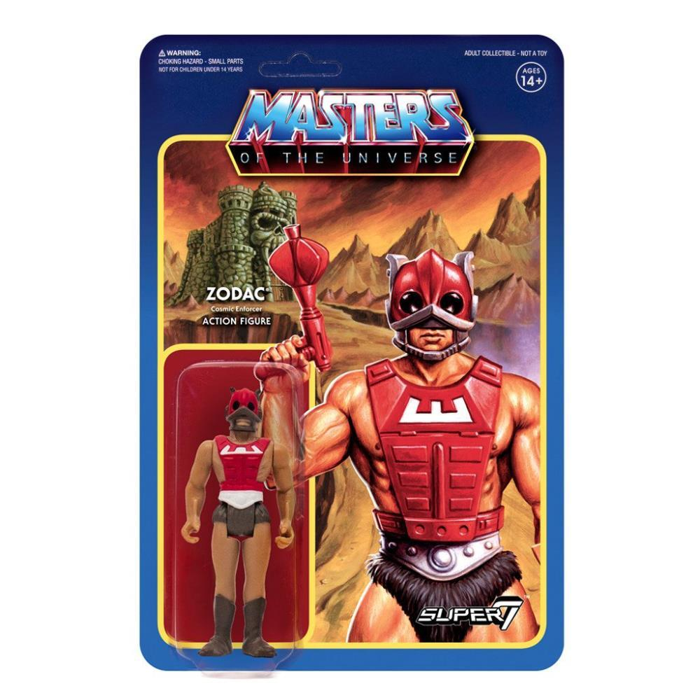 Masters of the Universe ReAction: wave 3 ZODAC