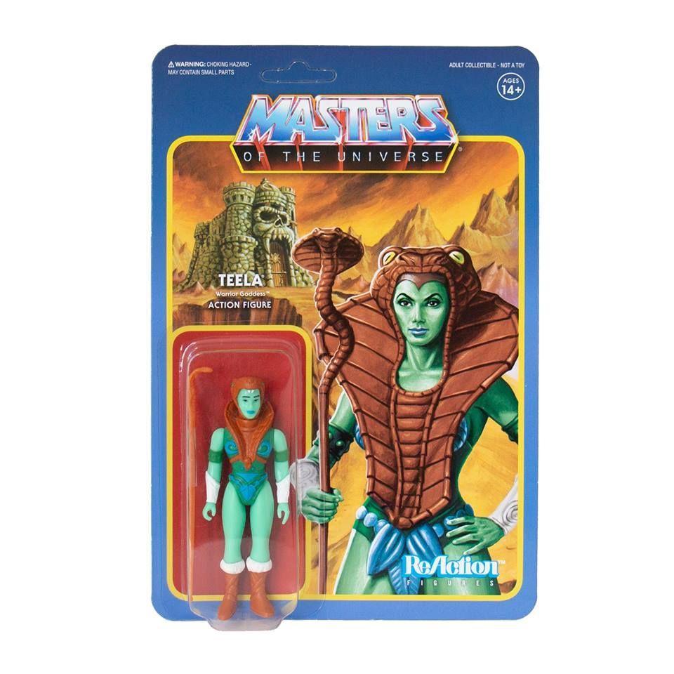 Masters of the Universe ReAction: Limited TEELA Goddess (Mini Comic Version)