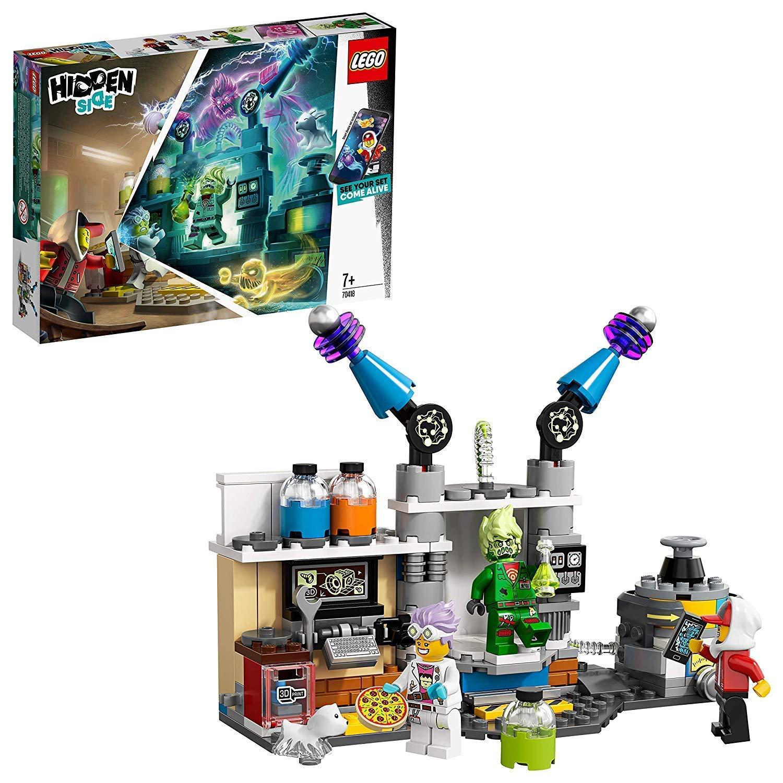 LEGO - Hidden Side Il Laboratorio Spettrale di J.B, 70418