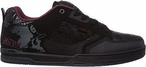 Etnies Metal Mulisha Cartel Black Red Grey