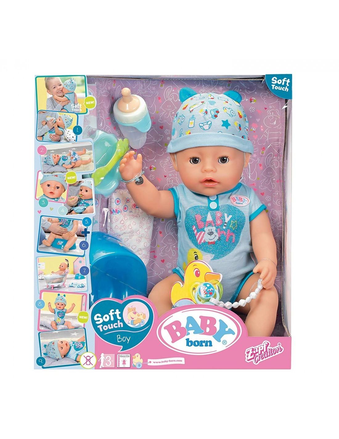 BABY BORN SOFT TOUCH BOY 43CM